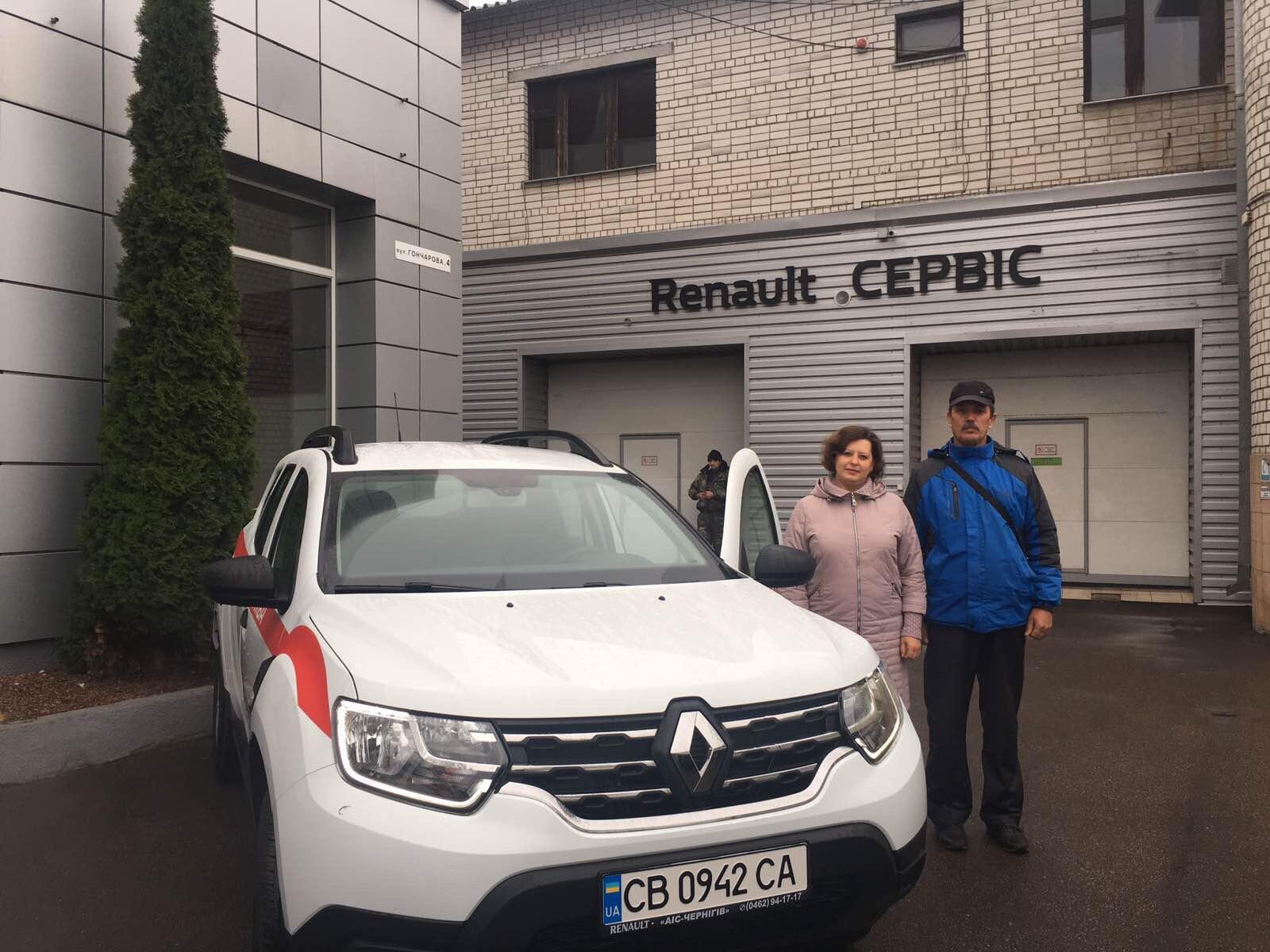 20 листопада КНП «Ічнянський ЦПМСД» отримав новенький повнопривідний автомобілі «Renault Duster»